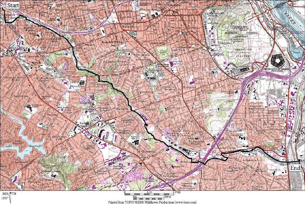 HD Wallpaper » Map Miles Run